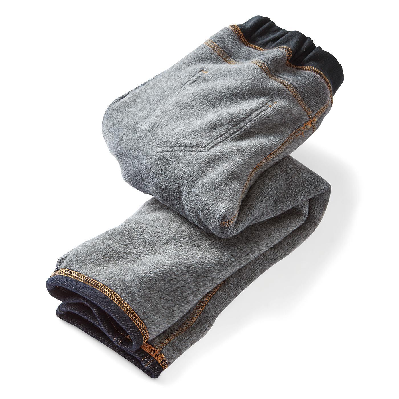 裏側はまるごとシャギーで、脚を暖かく包み込みます。