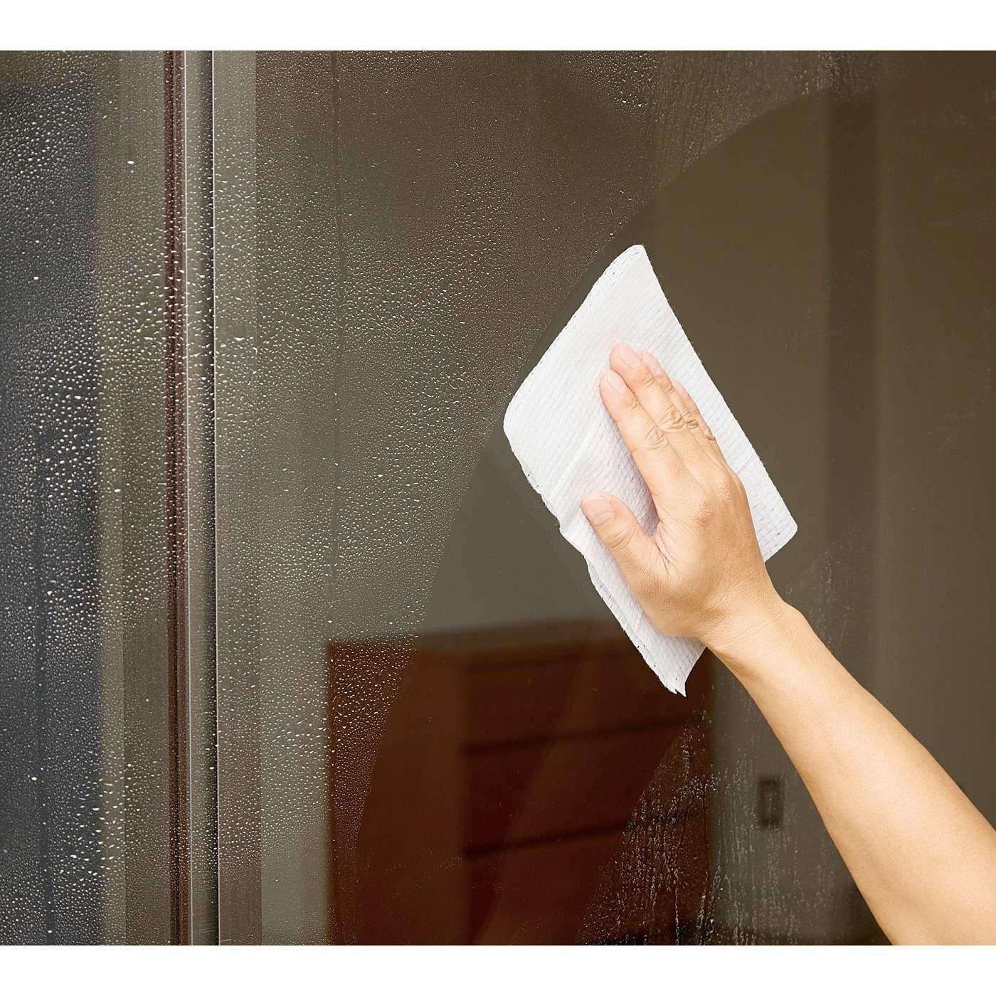 ひとふきで簡単きれい 窓ガラス専用お掃除ウェットシートの会