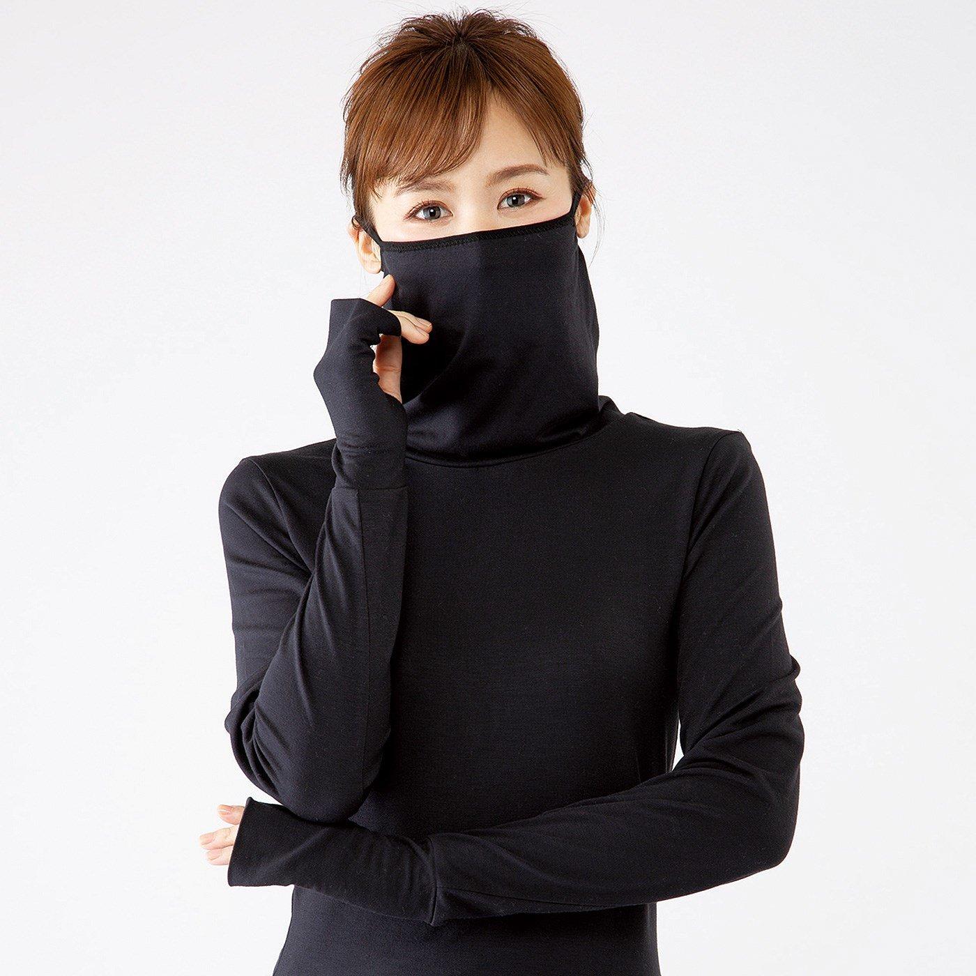 Up.de 吸湿発熱素材で着るだけ簡単防寒対策 ストレッチロングTシャツ