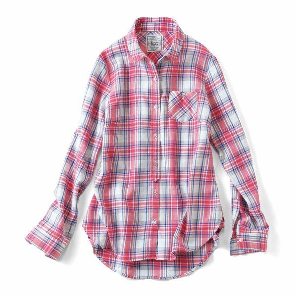 リブ イン コンフォート 後ろ長めがポイント! 使えるチェックシャツの会