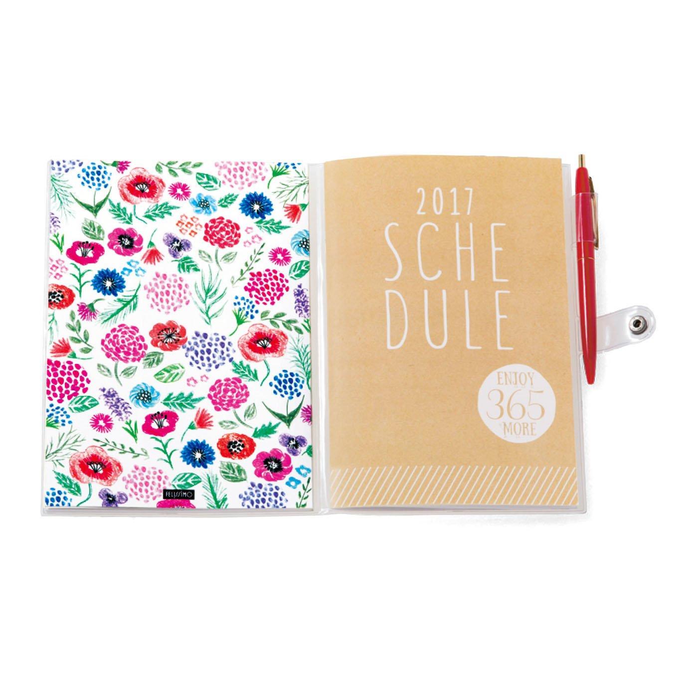 JOYMO コンテンツ冊子とスケジュール冊子を 一緒に入れられる透明カバー