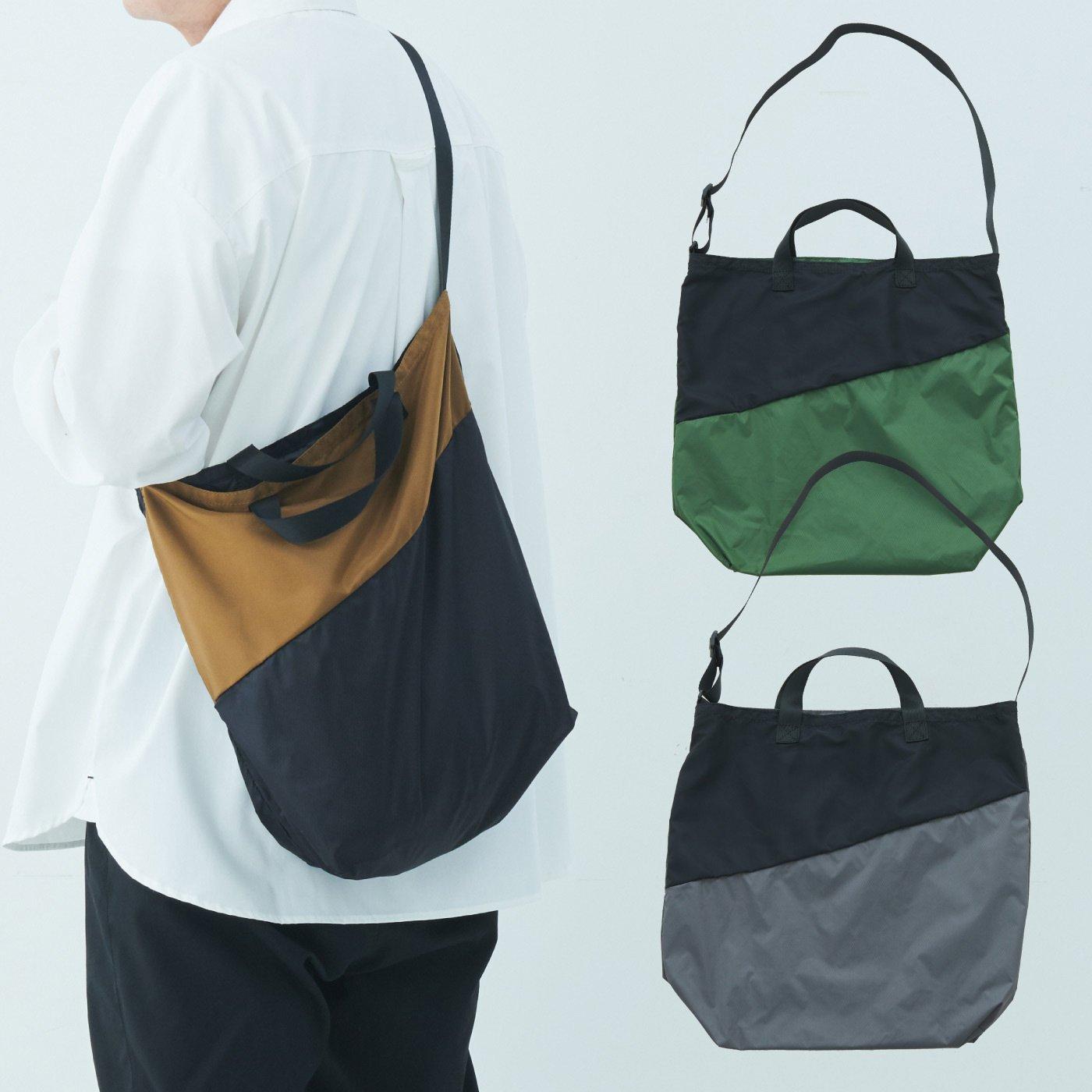 IEDIT[イディット] カラビナつきで便利!リップストップ素材で軽量&タフなスマートデザインユニセックスエコバッグの会