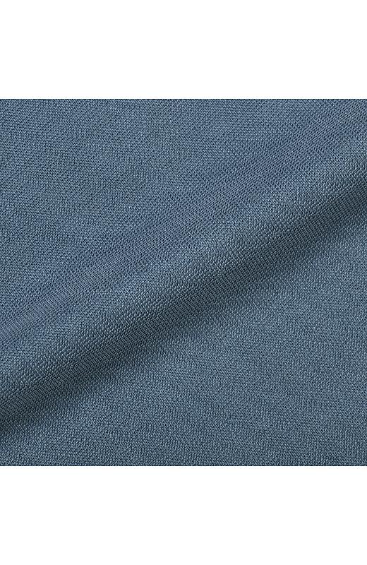 モダール混素材でリッチなピーチスキンのような肌ざわり。カットソーだからお手入れも簡単です。