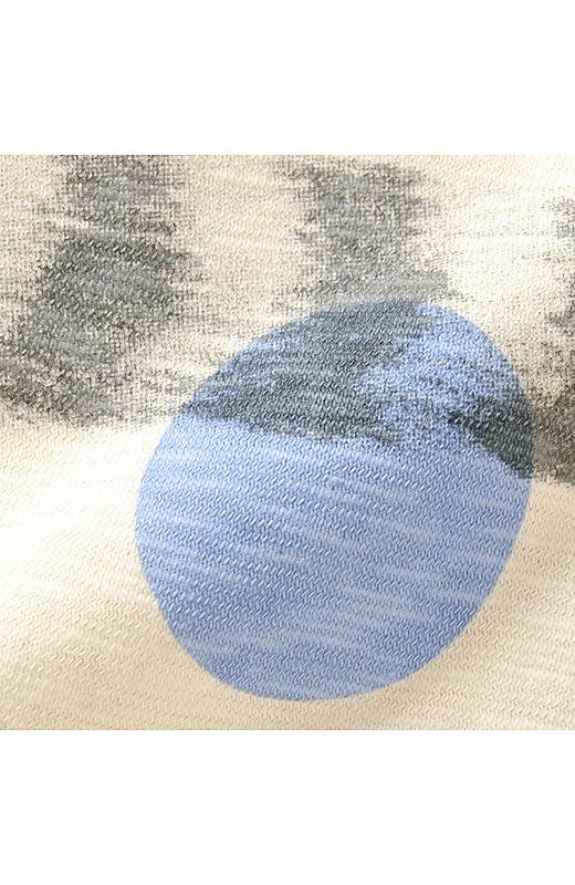 着るほどにくたっといい味が出る、綿100%のスラブ天じく素材。