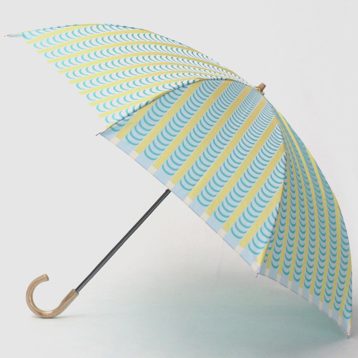 スティグ・リンドベリ 甲州織の折り畳み傘〈ドレープ〉イエロー