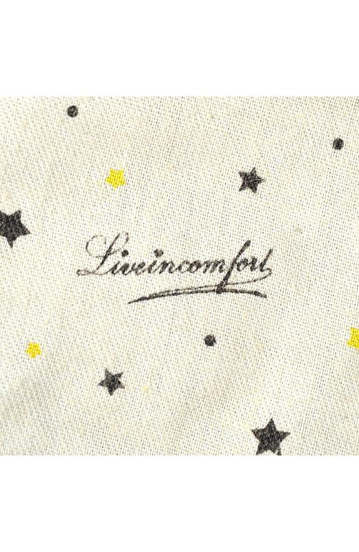 ポケットの袋布にはリブインのロゴが。女子ゴコロくすぐる、うれしいポイントです。