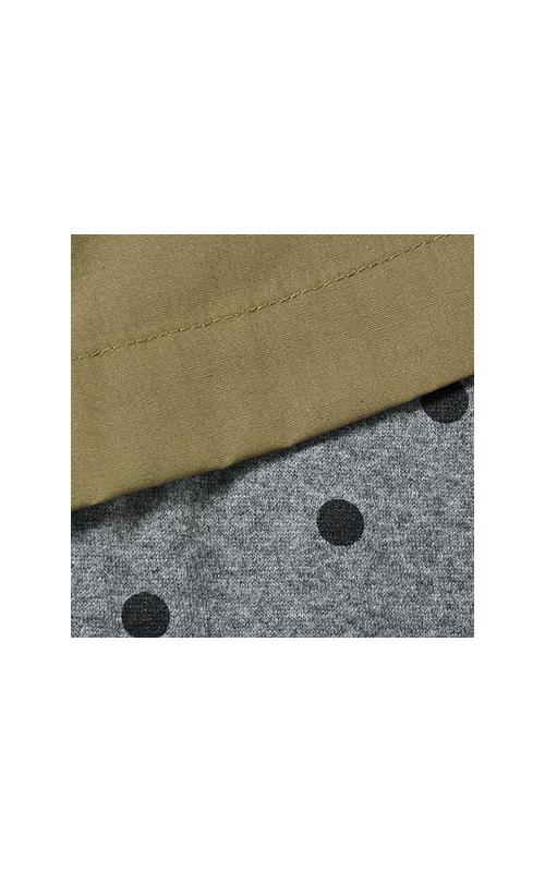 ふんわり布はくと伸び◎のカットソーが合わさって、らくちんおしゃれの完成ですよー。