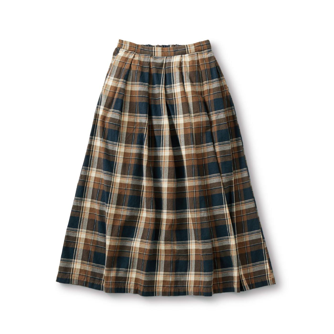 サニークラウズ feat. Shuttle Notes kazumiのチェックロングスカート〈レディース〉