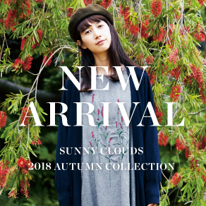 NEW ARRIVAL Autumn 2018 Sunny clouds [サニークラウズ]