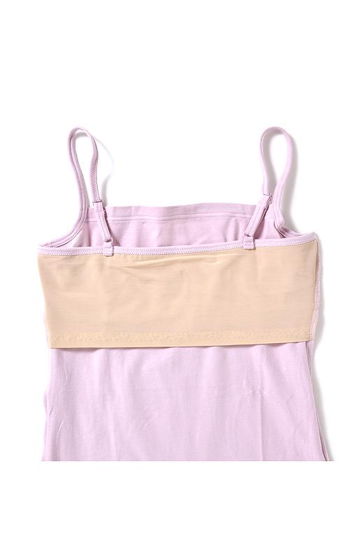 Back 肌側 背中の裏パネルで、ブラの段差も解消。