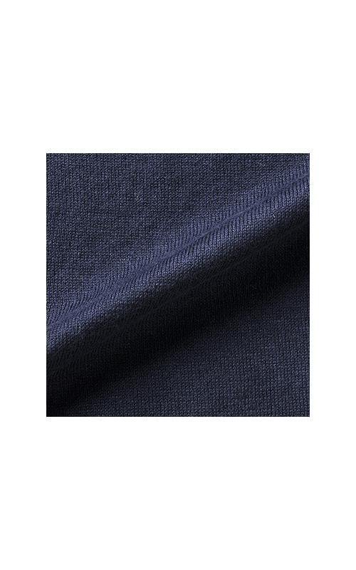 さらりとした、なんとも気持ちいい肌ざわり。綿とシルクの特徴のいいとこどりです。
