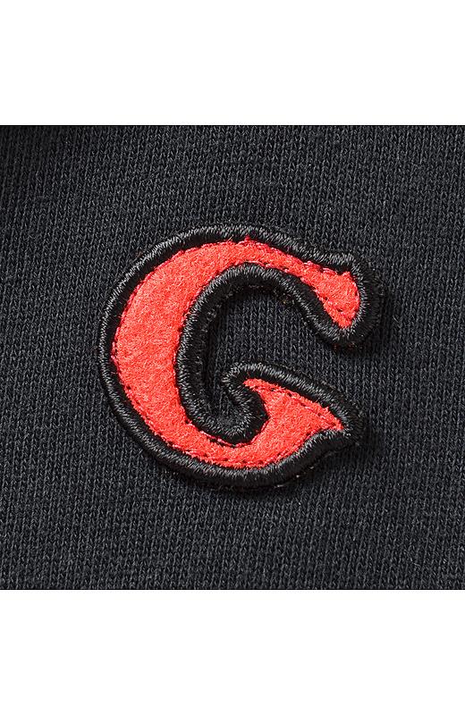 ゴリさんオリジナルロゴの「G」をワッペンに。