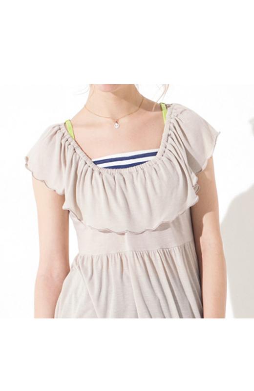 着用例です。お届けの商品とはカラーが異なります。