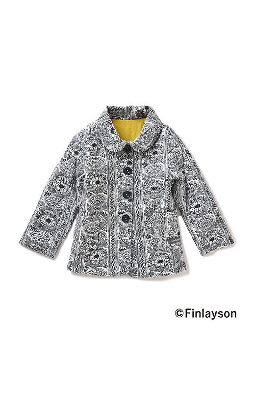 かわいい衿付きジャケット。