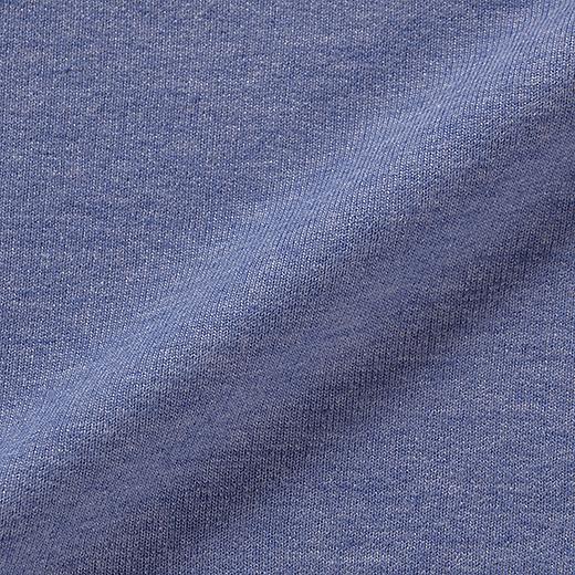マキシ丈でもボリュームが出すぎないミニ裏毛素材。