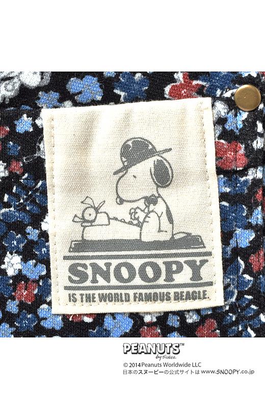 Back バックポケットにはスヌーピーのネーム付き。