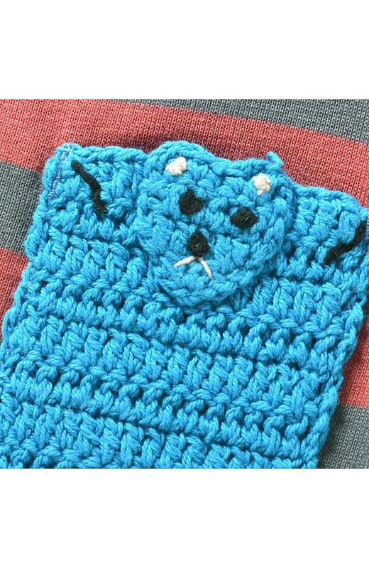 編みぐるみみたいなアニマルポッケにご注目!