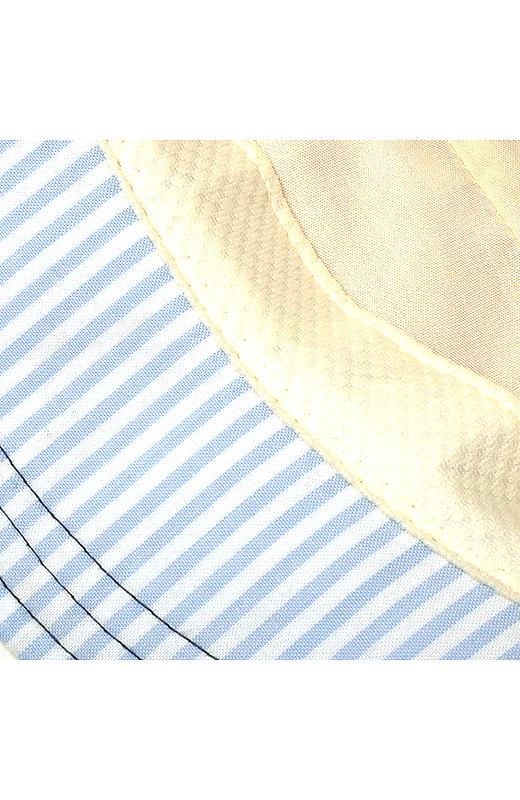 内側の汗どめ部分には吸汗速乾素材「フィールドセンサー?」を使用。