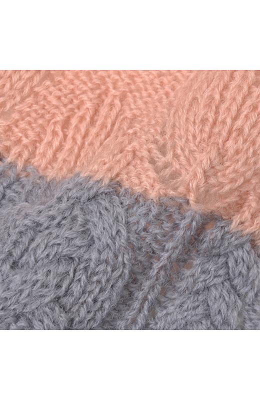 いろいろな編み模様が楽しい。