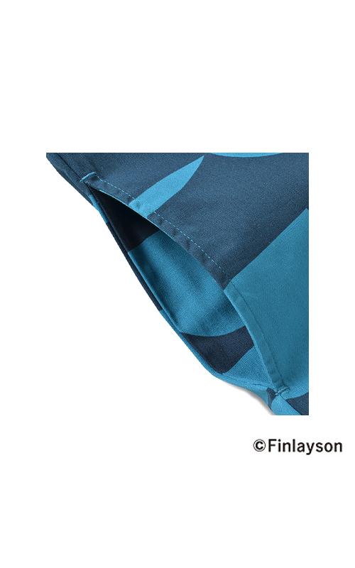 ほどよい厚みの布はく素材。