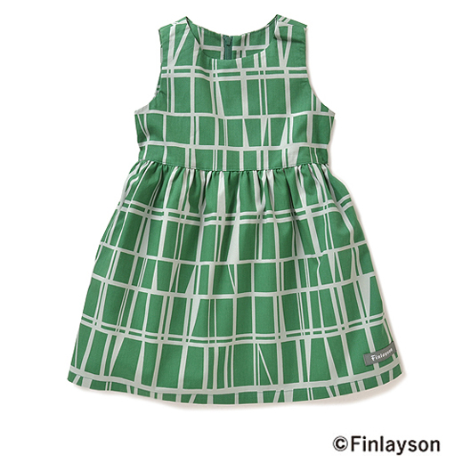 フィンレイソン 着こなしを楽しむ ノースリーブワンピース〈ガールズ〉(CORONNA)