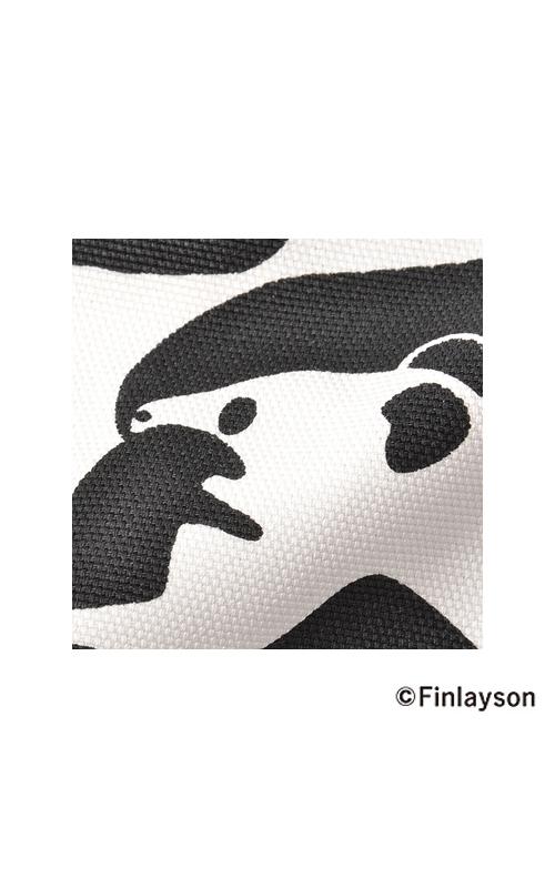 綿100%で厚みのあるしっかりした素材に、発色のよいプリント。