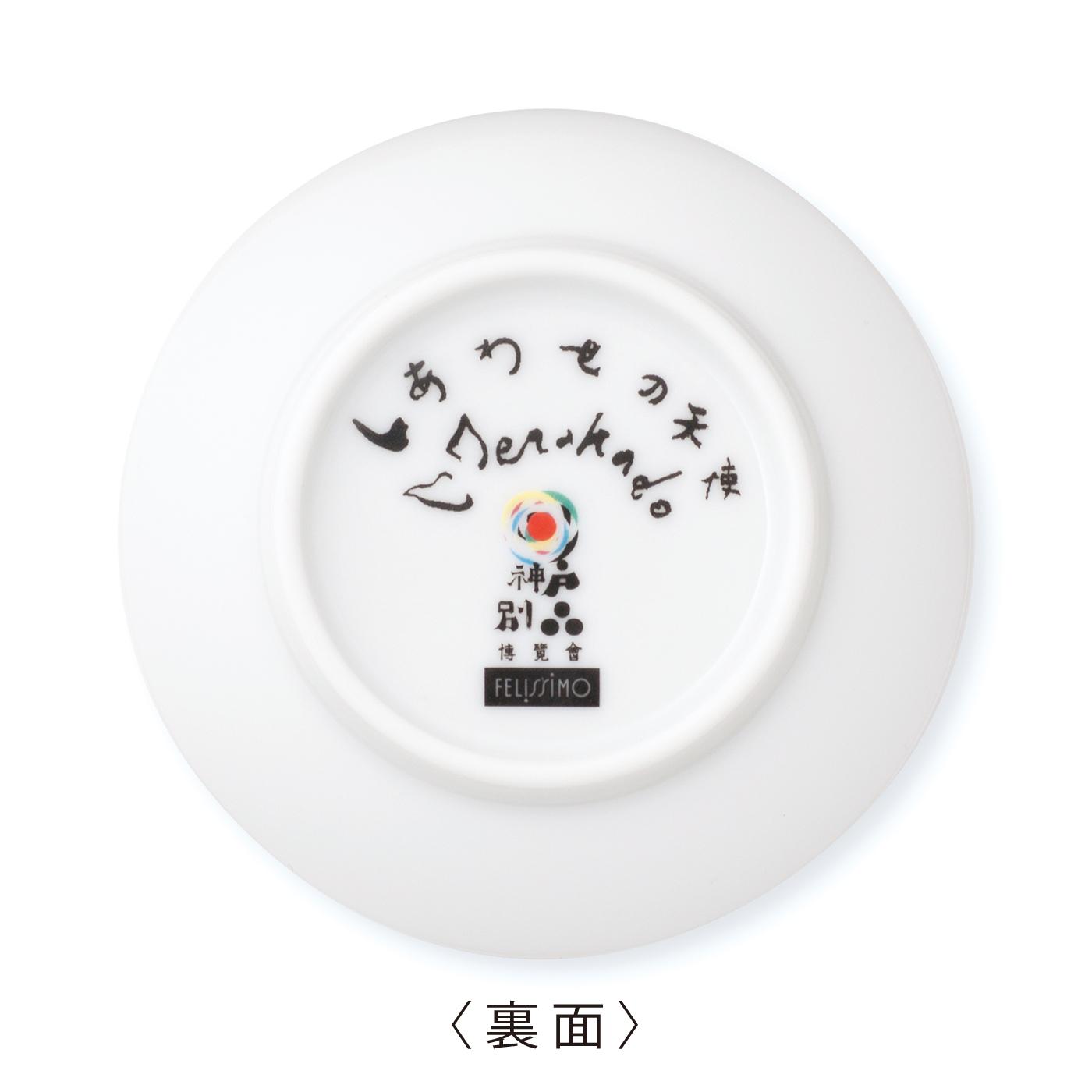 寺門さん自筆の天使のなまえとサイン、別品博覧会のロゴプリント入り。