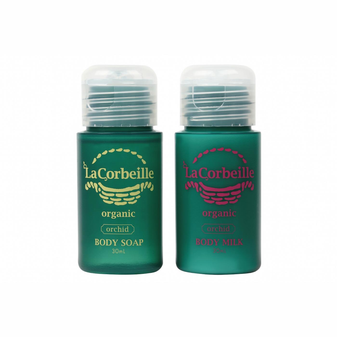フェリシモ フレグランスのように香りが変わる ラ コルベイユ オーガニック トライアル ボディケアセット〈オーキッド〉の会