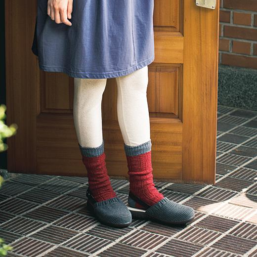 冷えとり専科 靴下重ねばきでも大丈夫 らくちんサボの会(6回限定コレクション)