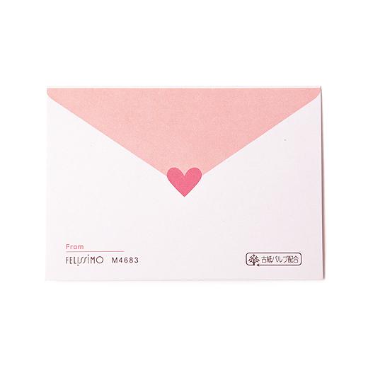 ふたりのコメントが残せるラブレター風の情報カードも付きます。