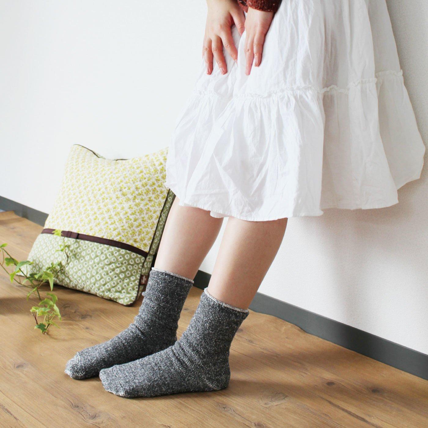 HIORIE 冷えとり用 内絹外ウール靴下2足セットの会