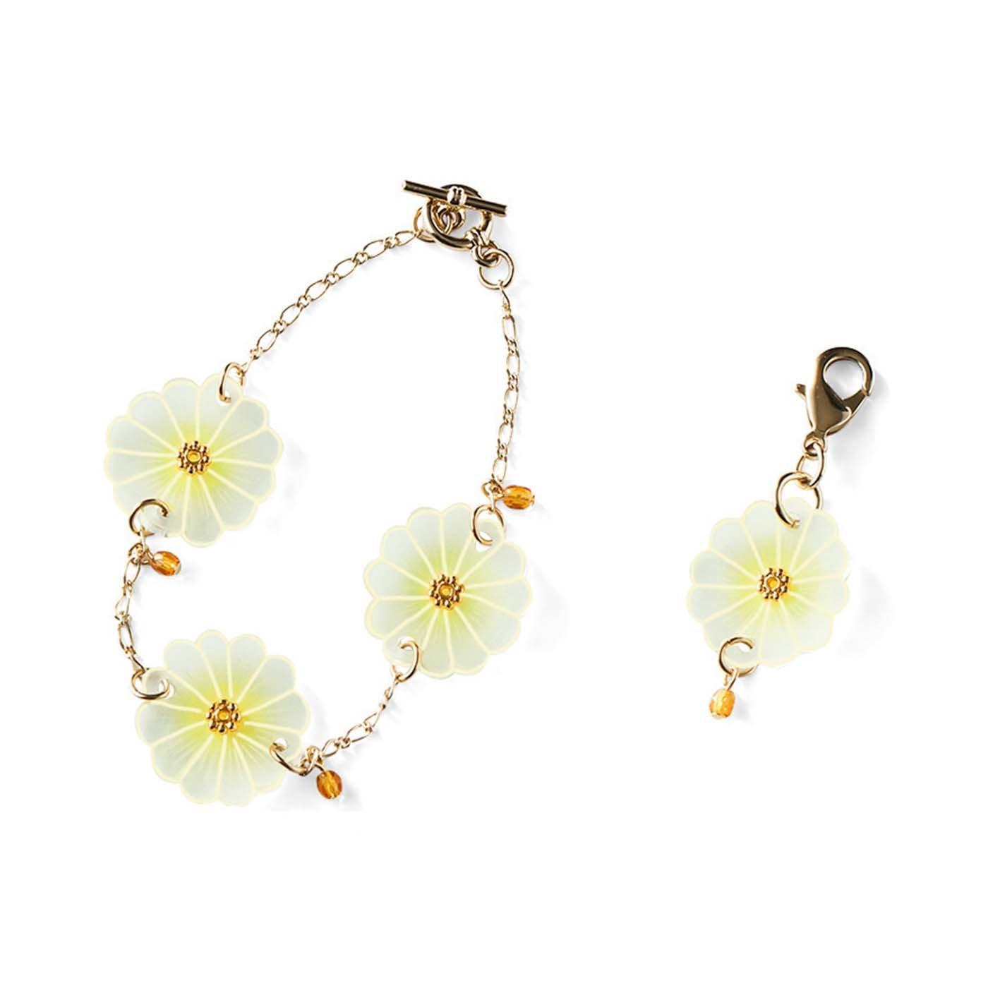 魔法のようにお花が仕上がる 透け感がきれいなプラバンアクセサリー