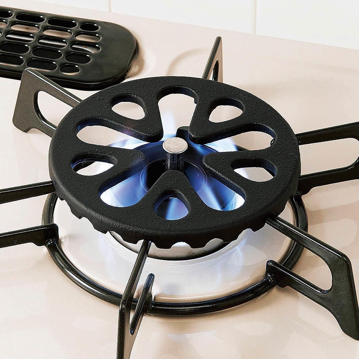 小さい鍋のガタつき防止 ガスコンロの上にのせるミニ五徳