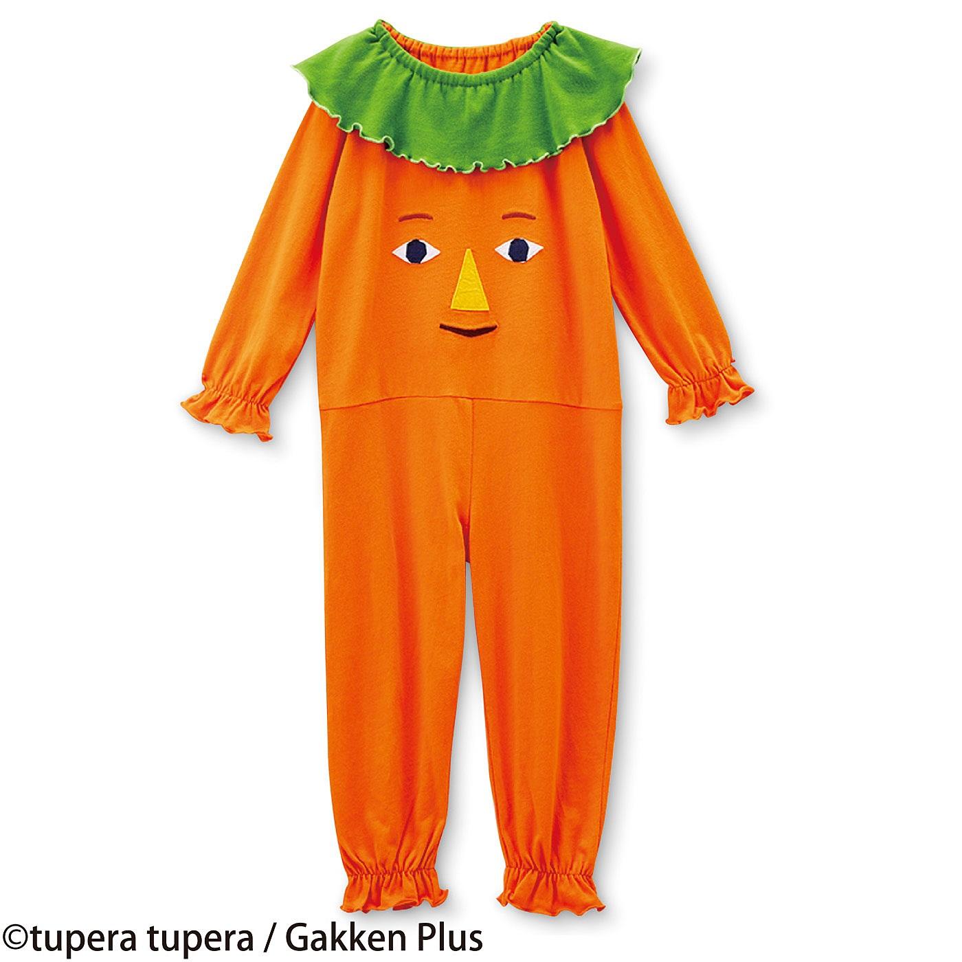 tupera tupera×フェリシモ やさいさん にんじんさんのオールインワンパジャマ
