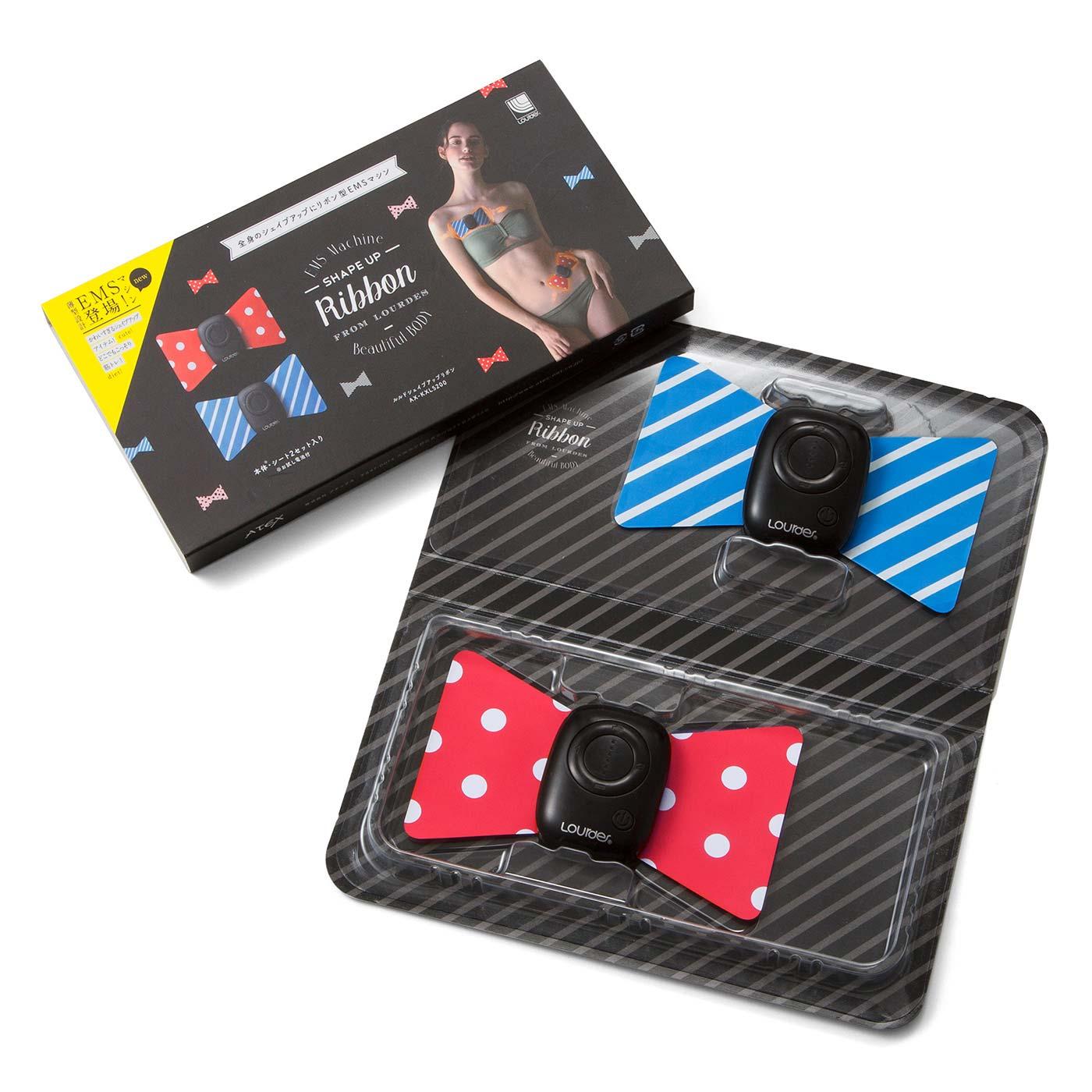 ブルーとレッドの2個セット。パッケージ、保証書(3ヵ月)、テスト電池付き。