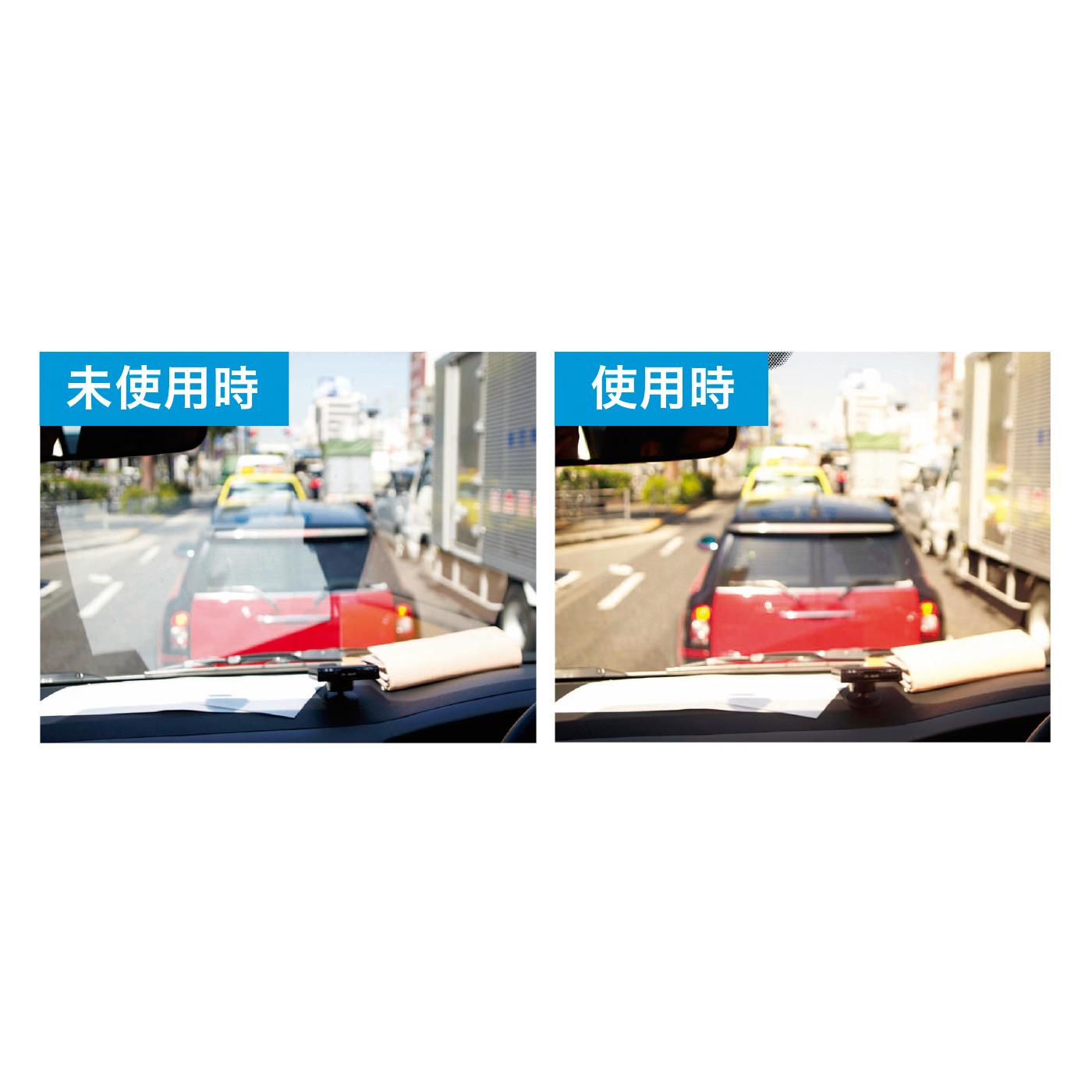 反射光やギラつきをおさえる偏光レンズ使用で、ドライブや水辺でのレジャーにもおすすめです。