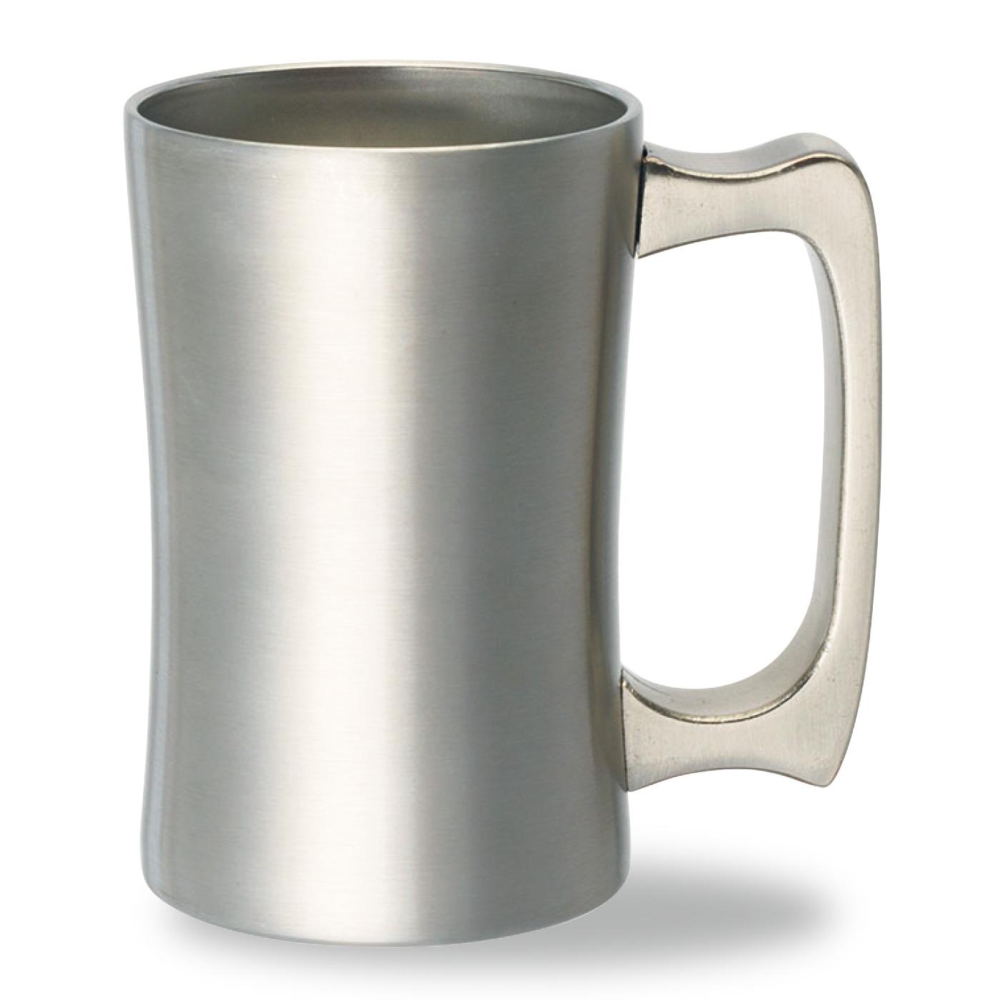 350ml缶ビールに最適サイズ ※注ぎ方やビールの種類・状態によって泡立ち方は異なります。