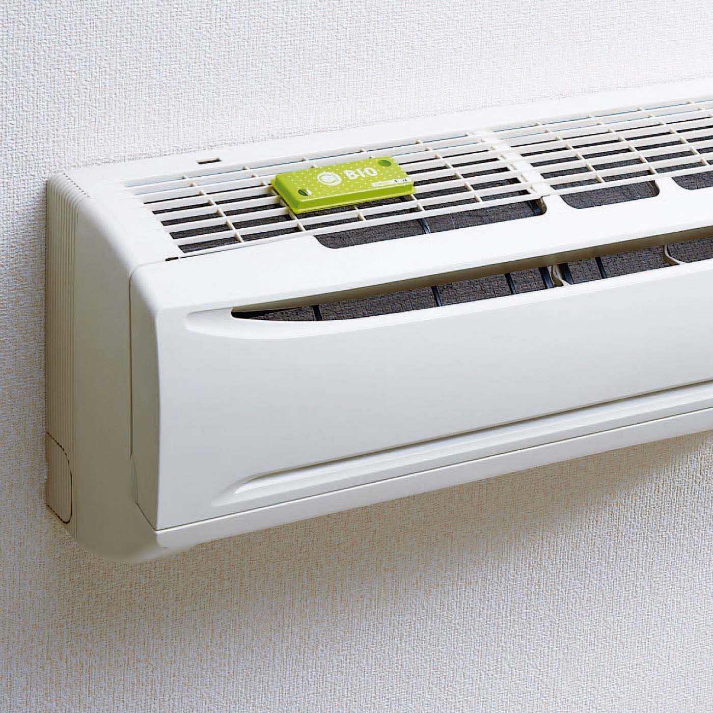 エアコンの吸気口に貼るだけ バイオの力 カビ抑制プレートの会