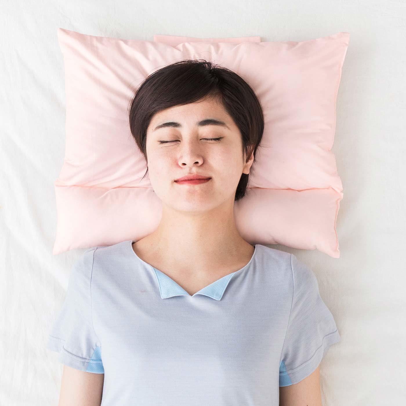 胸を開いてストレッチ&リラックス T字セパレート枕の会