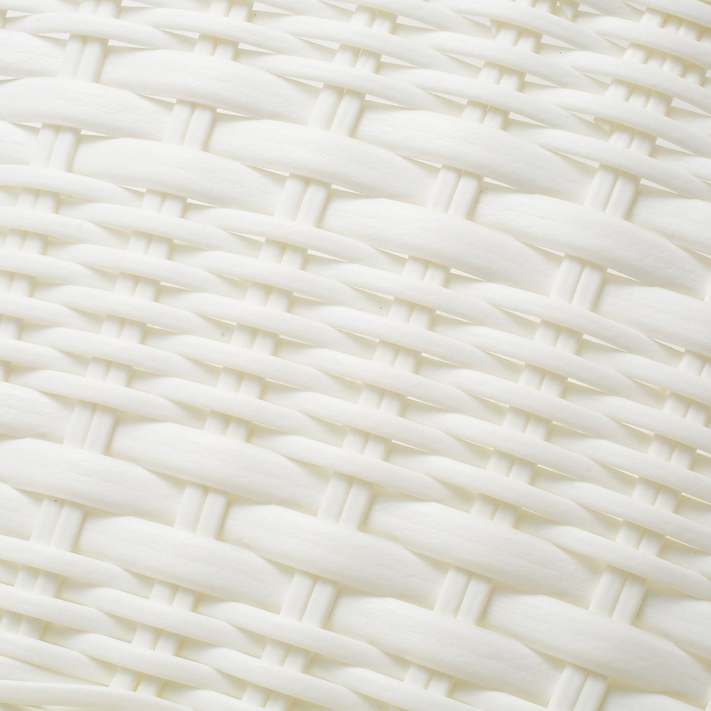 編み方や素材の太さに変化をつけた3種類。