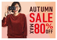 AUTUMN SALE MAX80%OFF