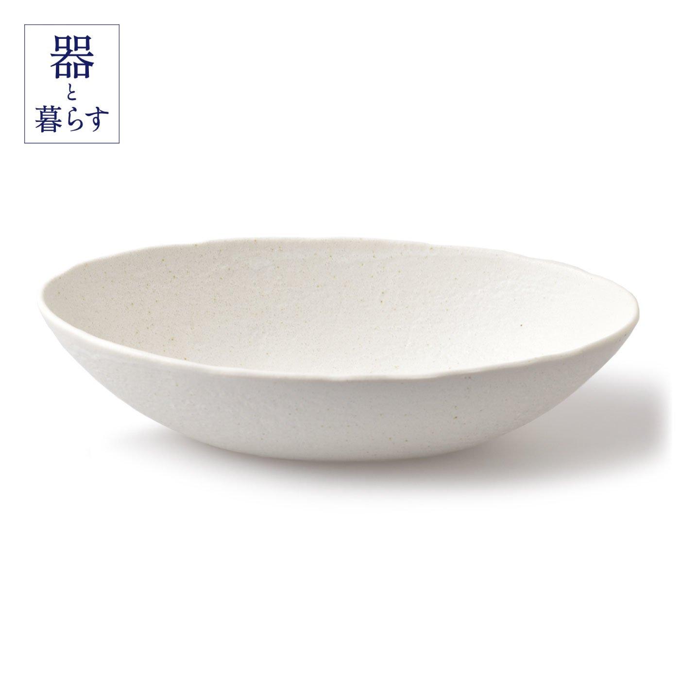 とりわけメニューにうれしい 大きめ砂目だ円鉢
