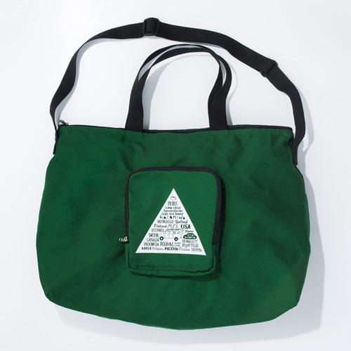【折りたたみトラベルバッグ】■サイズ / 縦約32cm、横約48cm、まち幅約21cm(耐荷重約3g)■素材 /綿100%(日本製)