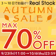 AUTUMN SALE 70%OFF