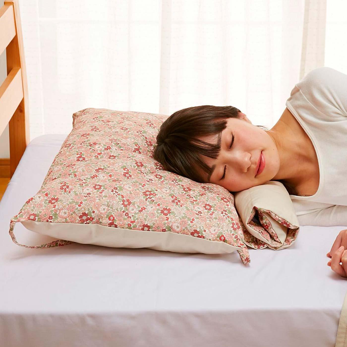枕を自分好みにカスタマイズ。
