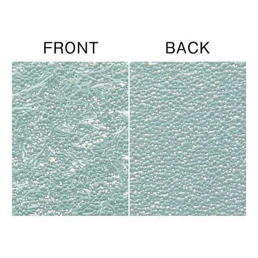 表と裏で削る粗さを変えられるので、よりていねいに磨き上げられます。