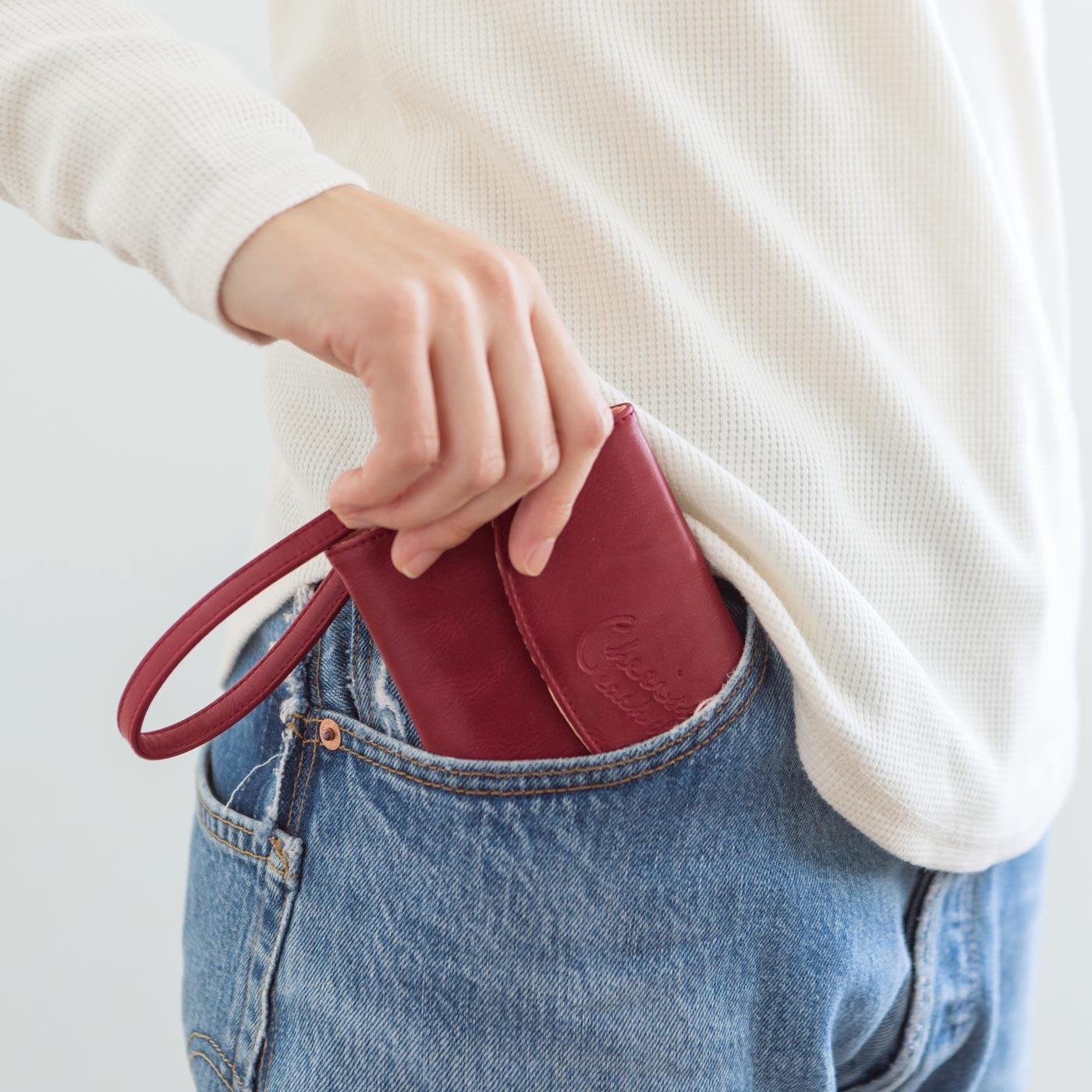 ポケットにらくらく入ります。
