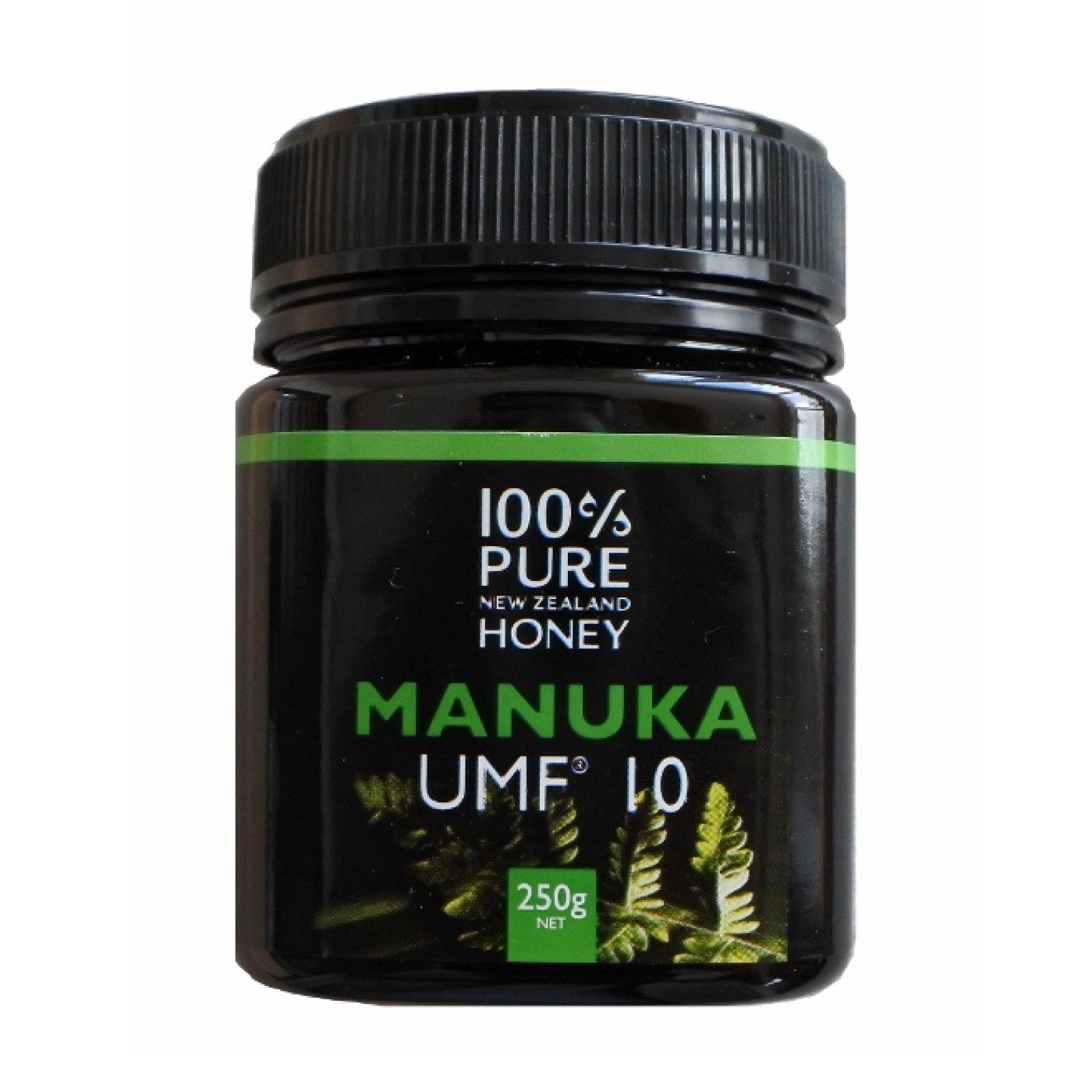 ニュージーランドの100%純粋はちみつ マヌカハニーUMF(R)10+の会