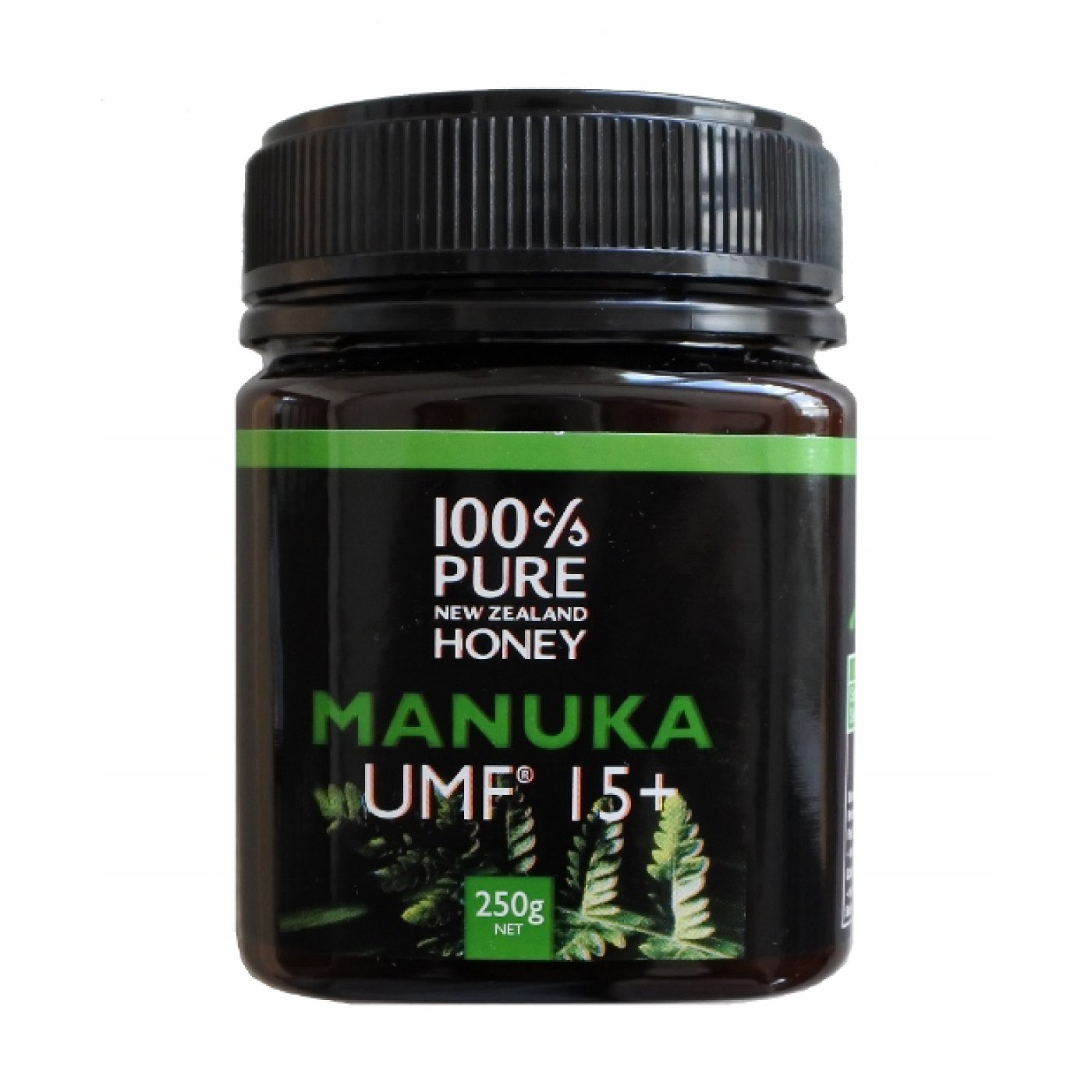ニュージーランドの100%純粋はちみつ マヌカハニーUMF(R)15+