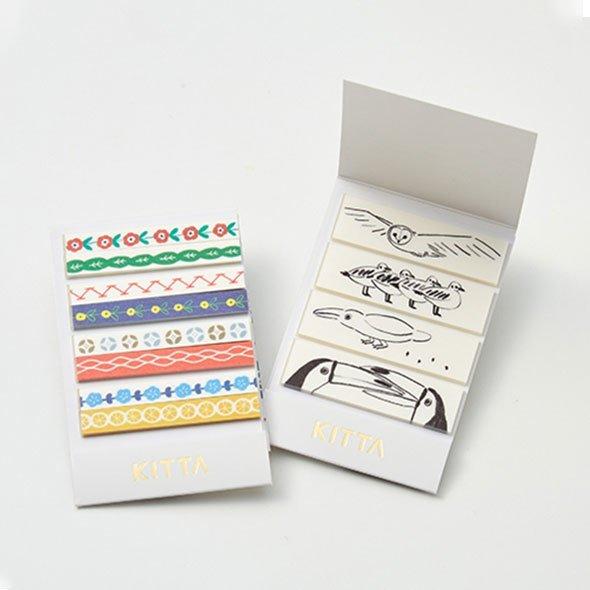手帳にだってすぐ貼れる「切れてるマスキングテープ」KITTA(スリム&ベーシックセット)の会